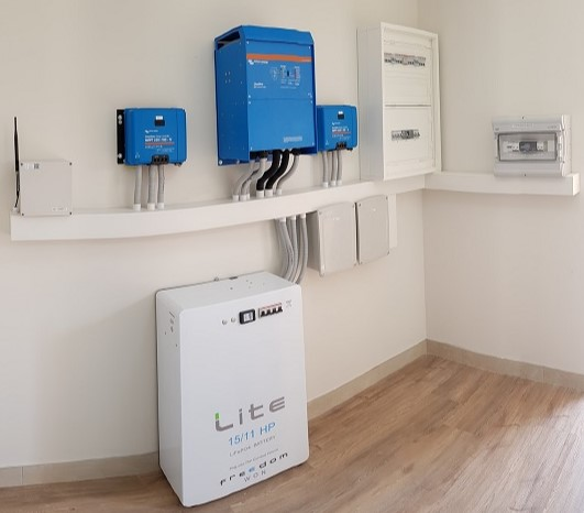 10.5kW Battery Backup System